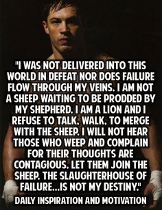 Don't be a sheep, be a sheep herder.