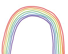 all rainbows all the time for the Hurley girls.