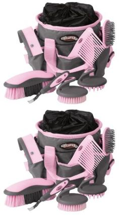Other Horse Care and Grooming 77696: Horse Grooming Kit Equestrian Sports 7 Pc Hoof Pick Curry Comb Mane Tail Brush -> BUY IT NOW ONLY: $40.99 on eBay!