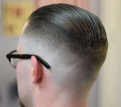 The fade haircut has been one of the hottest men& hair trends of recent years. This version of the undercut features a tapered transition from short hair down to the skin. Best Fade Haircuts, Types Of Fade Haircut, Short Fade Haircut, Haircuts For Men, Hipster Haircut, Hipster Hairstyles, Slick Hairstyles, Hairstyles Haircuts, Medium Hair Cuts