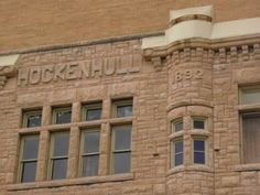 1892 - Hockenhull Building, Jacksonville, Illinois My great grandfather and gg owned this. Jacksonville Illinois, Multi Story Building, Tours, History, Places, Travel, Image, Historia, Viajes