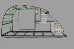 I am able to offer DIY Kits for home builders . This is a kit for the wooden structure of the teardrop. The DIY builder can construct t. Small Camping Trailer, Diy Camper Trailer, Tiny Camper, Popup Camper, Micro Campers, Trailer Kits, Teardrop Trailer Plans, Building A Teardrop Trailer, Motorcycle Trailer
