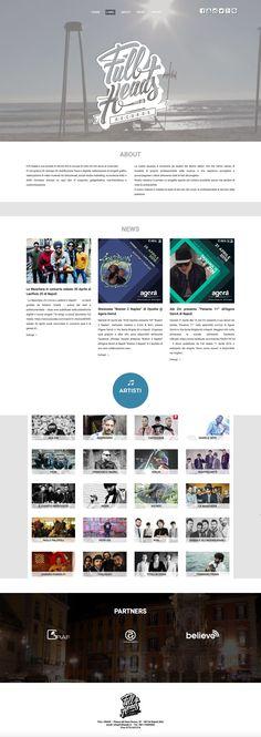 FullHeads - Etichetta indipendente -  sezione Label : Ui/Wordpress Designer