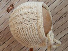 Princess Charlotte's Bonnet - free pattern