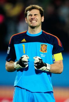 Iker Casillas - Paraguay v Spain: 2010 FIFA World Cup - Quarter Final