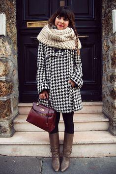 Moda en la calle: el invierno de las mil capas con abrigos (y del frío) | NIUTZ.com
