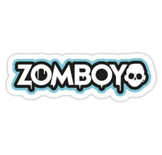 Zomboy – logo blue – Dubstep – shirt • Also buy this artwork on stickers, apparel, phone cases, and more.