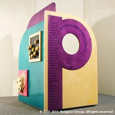 The Puppet Kiosk is mobile and great for story time.