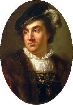 Marcello Bacciarelli, Portrait of Alexander Jagiellon, King of Poland, c. 1768 - 1771