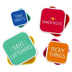 Snack Box Set Of 4