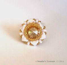 Smadar's Treasure: Free Pattern with Kheops par Puca Beads