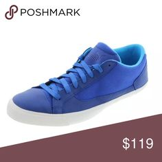 Puma Rush Lo Blue Leather Toe Cap Sport  Sneakers Puma produces stylish athletic and casual footwear as well as accessories and sportswear for men, women and children of all ages.  Manufacturer: Puma Size: 13 Size Origin: US Manufacturer Color: Sodalite Blue Retail: $208.00 Condition: New with box Style Type: Casual Shoes Collection: Alexander McQueen For Puma Shoe Width: Heel Height: 3/4 Inches Platform Height: 1 Inches Closure: Front Lace Material: Leather/Textile/Rubber Fabric Type…