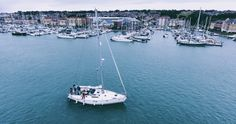 Drones are my new favourite way to capture new and unique views. In this series, titled HIGHER AERIALS, I show you the best of the shots. Sailing, Boat, Boats, Boating