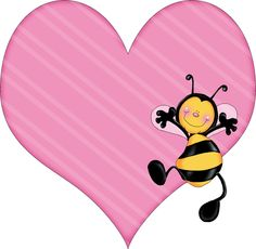 LOVE BUG HEART CLIP ART