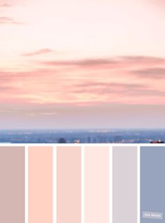 Blush tones : Pretty blush color scheme ,blush color combinations #blush #color #colorpalette