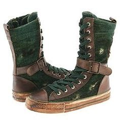 dollhouse green hitter mid-calf casual boot....... XD there are no words how AMAZING these are!!!