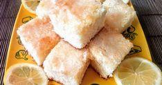 Mennyei Citromos kocka recept! Igazán üdítő süti, a citrom minden frissességével. Gyorsan elkészíthető egyszerű és nagyon finom.