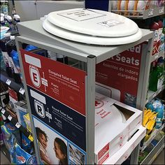 As peak toilet seat sales season approaches, its time to command merchandising attention at the entry to the cahwrap lanes (Restroom entries a good second bet). The high-visibility location is sure…