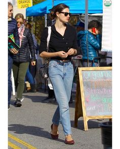 Phoebe Tonkin at Farmers Market on March 18, 2018 in Studio City, California.
