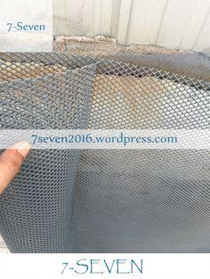 HDPE fine rigid flat netting for gardening.