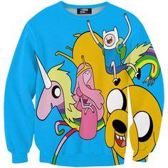 Hey Adventure Land sweater / Mr. Gugu & Miss Go