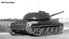AMX 30 First prototype