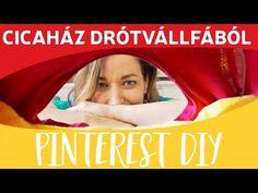 FAIL! Pinterest inspirálta DIY | Cicaház drótvállfából | Csorba Anita - YouTube