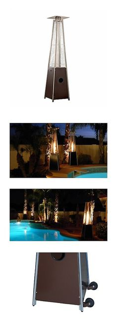 Patio Heaters 106402: Az Patio Heaters Patio Heater Quartz Glass Tube In Hammered Bronze -> BUY IT NOW ONLY: $246.76 on eBay!