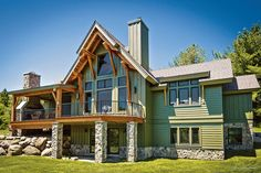 Downsizing your home may be the ultimate luxury. There are many benefits to building and living in a smaller timber home.