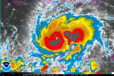 Floater One AVN Enanced image Hurricane Matthew
