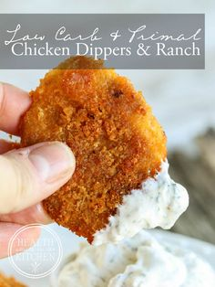 It's universally accepted that breaded chicken is one of the most popular foods. With choices from southern fried chicken, chicken fried steak to chicken nuggets, there's a favorite for everyone to choose from. These Baked Chicken Dippers Chicken Fried Steak, Breaded Chicken, Ketogenic Recipes, Low Carb Recipes, Chicken Dippers, Best Keto Diet, Those Recipe, Gluten Free Chicken, Popular Recipes