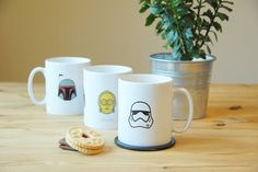 These Minimalist Mugs Have All The 'Star Wars' You Need