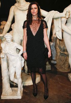 Anna Mouglalis au premier rang du défilé Chanel Métiers d'Art