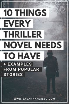 Thriller Conventions: The 10 Things Every Thriller Novel Needs Are you writing a thriller? Learn how to write a book that works by including these thriller genre conventions in your story. Creative Writing Tips, Book Writing Tips, Writing Words, Fiction Writing, Writing Resources, Writing Help, Writing Prompts, Science Fiction, Writing Courses