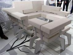 Work Sofa turns standard furniture concepts upside down