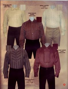 1800S Range Wear | ... MEN'S WESTERN WEAR CLOTHING BIB SHIRTS 1800 PERIOD CLOTHNING/title