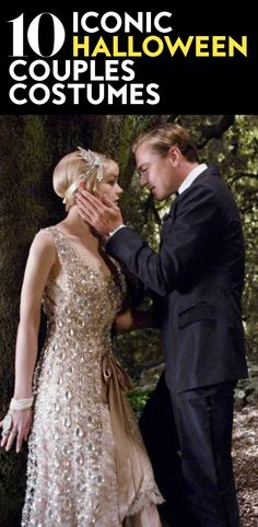 It's never too early to start planning your Halloween Costume. Here are the best movie couples to offer some much needed inspiration. Movie Couples Costumes, Celebrity Couple Costumes, Best Movie Couples, Classic Halloween Costumes, Halloween Outfits, Vintage Halloween, Halloween Ideas, Halloween Party, Movie Fancy Dress