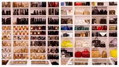 Beauty mogul Jaclyn Hill shows off her lavish designer-stuffed closet Source by ghfprods photoshoot Diy Walk In Closet, Closet Tour, Master Closet, Makeup Room Decor, Makeup Rooms, Makeup Collection Storage, Ikea Pax Wardrobe, Shoe Wardrobe, Wardrobe Systems