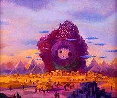 Sci Fi Illustration by Paul Lehr Fantasy Kunst, Fantasy Art, Sci Fi Kunst, Science Fiction Kunst, Dragons, Arte Sci Fi, 70s Sci Fi Art, Street Art, Space Images