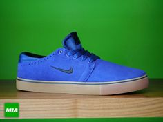 Nike SB Team Edition 2-Deep Royal Blue-Black-Gum #sneakers #kicks