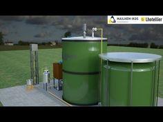 Portable Biogas Plant - Mailhem Ikos - YouTube