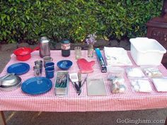 Camp Cooking Supplies..some good tips here!
