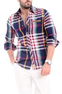 Button Down Shirt, Men Casual, Plaid, Mens Tops, Shirts, Women, Fashion, Gingham, Moda