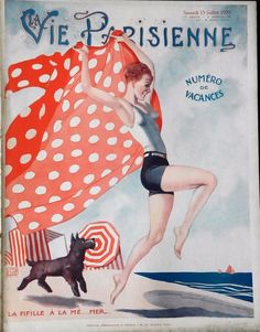 Georges Léonnec (1881 – 1940). La Vie Parisienne, 13 Juillet 1929. [Pinned 19-i-2018]