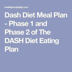 Food and drink to lower blood pressure pinterest eating plans dash diet meal plan phase 1 and phase 2 of the dash diet eating plan fandeluxe Image collections