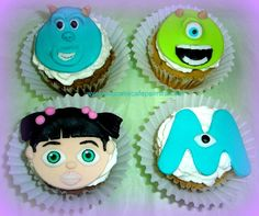Cupcakes Monster Inc