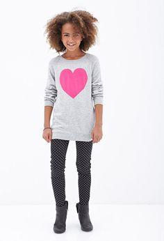 Polka Dot Skinny Jeans (Kids) | FOREVER21 girls - 2000066876