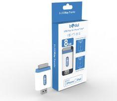 i-USBKey 8GB made for iPhone iPad : Clé USB pour faciliter les transferts, lire des videos en streaming, sur un iPad ou un iPhone de BIDUL, http://www.amazon.fr/dp/B00C7PNUM6/ref=cm_sw_r_pi_dp_mogStb1R426AH