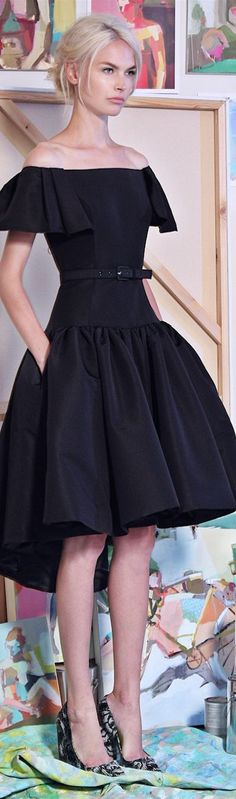 "trythiscouture: ""Christian Siriano "" Classy and fabulously feminine. http://amarriedsissy.blogspot.com"