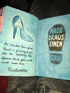 (Mach sieses buch fertig) Cinderellas schuh